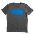 ECM Logo 1969 Tシャツ グレー/L