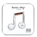 happy plugs イヤホン EARBUD PLUS/マーブルローズ
