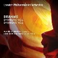 ブラームス: 交響曲第1番、第2番
