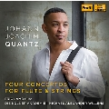 Quantz: Four Concertos for Flute & Strings