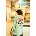 Caprice × WTM Dog L/S T-shirt(Light Blue) XLサイズ
