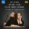 フルートとギターのための20世紀の作品集