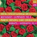 ベートーヴェン: 交響曲第2番 Op.36、ブラームス: 交響曲第2番 Op.73