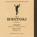 Artur Rodzinski Interpreta - Scriabin, Prokofiev