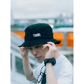BOAT × WEARTHEMUSIC BUCKET HAT(ブラック)