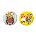 Rilakkuma × TOWER RECORDS コラボ缶バッジ 2個セット 2018 Accessories