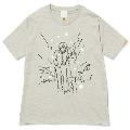 144 前野健太 NO MUSIC, NO LIFE. T-shirt (グリーン電力証書付) Mサイズ