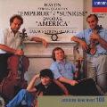 ハイドン:弦楽四重奏曲「皇帝」「日の出」ドヴォルザーク:弦楽四重奏曲「アメリカ」