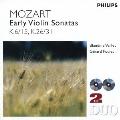 モーツァルト:初期ヴァイオリン・ソナタ集(全16曲)