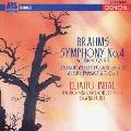 インバル/ブラームス:交響曲第4番 J.S.バッハ/ウェーベルン編:フーガ(リチェルカータ)~「音楽の捧げもの」より ウェーベルン:管弦楽のためのパッサカリア 作品1
