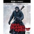猿の惑星:聖戦記(グレート・ウォー) <4K ULTRA HD+3D+2Dブルーレイ/3枚組>