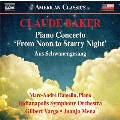 """Claude Baker: Piano Concerto """"From Noon to Starry Night"""", Aus Schwanengesang"""