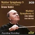 マーラー: 交響曲第9番ニ長調、交響曲第4番ト長調