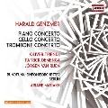 Harald Genzmer: Piano Concerto, Cello Concerto, Trombone Concerto