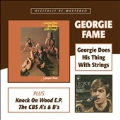 George Does His Thing With Strings/Knock On Wood