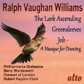 ヴォーン・ウィリアムズ: 揚げひばり(ヴァイオリンと管弦楽のためのロマンス)/グリーンスリーヴスによる幻想曲(管弦楽のための)/バレエ⾳楽「ヨブ」(管弦楽のための)