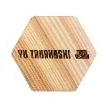 高橋優 × TOWER RECORDS 木製コースター