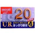 maxell 音楽用テープ UR 20分 4本パック