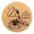 ポムポムプリン × TOWER RECORDS CAFE コルクコースターB 2017