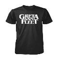 GRETA VAN FLEET ロゴTシャツ(ブラック)/Mサイズ