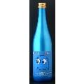 「パックマン日本酒シリーズ」インキー 純米酒(スカイブルーメタリックボトル)