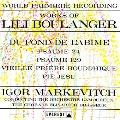 Lili Boulanger: Du Fond de l'Abime (日本語解説付)