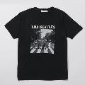 Abbey Road Cover Tee Black/XLサイズ