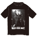 BLACK RUDE NIGHT<The Birthday>T-Shirt/XS