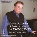 ペーター・シュライヤー1996年10月16日東京芸術劇場ライヴ