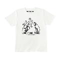 忌野清志郎×NIPPER LOVE PEACE MUSIC Tシャツ shout/XLサイズ