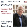 Copland: Symphony No. 3, Three Latin American Sketches