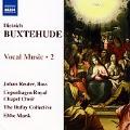 Buxtehude: Vocal Music, Vol.2; Das neugeborne Kindelein, BuxWV 13, Der Herr ist mit mir, BuxWV 15 / Ebbe Munk(cond), Johan Reuter(Bs), Dufay Collective, Copenhagen Royal Chapel Choir
