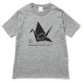 136 origami PRODUCTIONS NO MUSIC, NO LIFE. T-shirt (グリーン電力証書付) Lサイズ
