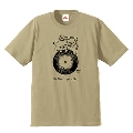 Rilakkuma × TOWER RECORDS コラボT-shirts 2018 サンドカーキ Sサイズ Apparel