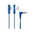 audio-technica インナーイヤーヘッドホン ATH-J100 Blue