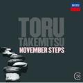 Takemitsu: Novemeber Steps, Eclipse, A String Around Autumn (Viola Concerto), Corona for pianist(s)