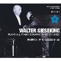 Walter Gieseking Plays All Piano Sonatas by Beethoven Vol.2 No.16-No.32 (Less No.22)