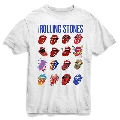 The Rolling Stones/Evolution Blue & Lonesome T-Shirt White Lサイズ