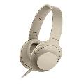 SONY ハイレゾ対応 ヘッドホン h.ear on 2 MDR-H600A ペールゴールド