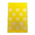 タワレコ 推し色ラッピング袋 Yellow(水玉)
