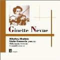 シベリウス: ヴァイオリン協奏曲、ブラームス: ヴァイオリン協奏曲、他
