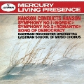ハンソン:交響曲第1番≪ノルディック≫ 第2番≪ロマンティック≫ 民主主義の歌