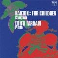 バルトーク:「子どものために」全曲収録