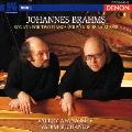 ブラームス:2台のピアノのためのソナタ ヘ短調/『ロシアの想い出』(4手のための幻想曲集)より第1曲、第3曲、第5曲