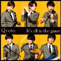 It's all in the game [CD+DVD]<初回生産限定盤>