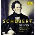 シューベルト・エディション Vol.1~交響曲、管弦楽、室内楽、ピアノ作品集<限定盤>