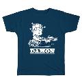 PEANUTS COMIC STYLE×ブリット・ポップ・スター T-shirt DAMON Navy/Mサイズ
