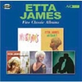 Five Classic Albums -Miss Etta James / At Last! / Second Time Around / Etta James / Sings For Lover
