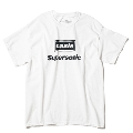 Supersonic 半袖T-shirt (White)/XLサイズ