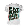 FATBOY SLIM / EAT SLEEP RAVE REPEAT T SHIRT Mサイズ